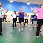 A Zumba Fitness class at the old Lorain YMCA on Tower Blvd. Apr. 20.  Steve Manheim