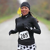 Inland Trail marathon : A cool, but dry overcast day is great weather for a marathon, or half marathon, on the Inland Trail from Elyria's Murray Ridge school to Kipton and back.
