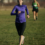Katie Kay wins first place for females in the LCCC Turkey Trot 10k race and 11th place overall. Photo by Ray Riedel
