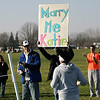 Marry me Katie : Runner Katie Knight is finishing the 10K LCCC Turkey Trot when she sees her boyfriend holding a sing at the finish line. She said yes.