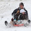 Sledding at Cascade :