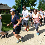 This year, Strides for Struggles was held to benefit the Murray Ridge Schools, and nearly 300 people participated on Aug. 16. KRISTIN BAUER | CHRONICLE