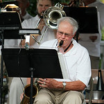 ANNA NORRIS/CHRONICLE<br/>The Vermilion Community Music Association Windjammer Big Band performs Sunday evening at Victory Park in Vermilion as the final concert in the park for the summer.