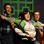 """Amber Mihalak sings as TracyTurnblad in a dress rehearsal for The Mad Factory players production of """"Hairspray – The Broadway Musica"""" at Oberlin High School on July 22. STEVE MANHEIM/CHRONIC …"""