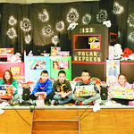 Firelands Elementary School students collect toys for the Not Forgotten Box every year.