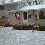 It's starting to look a lot like Christmas at Anita Ambers' Sheffield Lake home.