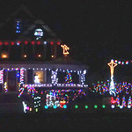 Matthew and Jessica Loescher decorated their Park Avenue home in Amherst.