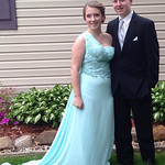 Daryan Willmitch and Brandon Schubert attended Midview's prom on May 16.