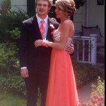 Matthew Bee and Gillian Smith attended Avon's prom on May 16.