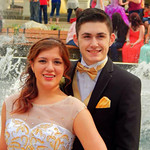 Jacob Hebebrand and Cierra Amelia McClure attended Elyria High's prom on May 10.