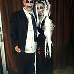Toni Jones and her husband went all out for their zombie costumes.