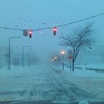 Patti Joseph Stiteler said driving in Elyria is easy when you are the only one on the road.