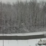 Joe Arizmendi shared this panoramic of the snow in Sheffield Lake on Feb. 5.