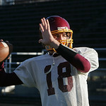 11NOV09 Football Avon Lake QB Trent Toy photo by CHuck Humel