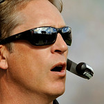 Jacksonville Jaguars head coach Jack Del Rio paces the sidelines during the first half of an NFL football game against the Cleveland Browns, Sunday, Nov. 21, 2010, in Jacksonville, Fla. (AP  …