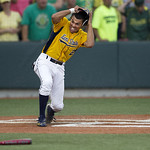 Kent State second baseman Derek Toadvine comes across the plate with the game winning run  to give Kent State a 3-2 win over  Oregon in an NCAA Super Regional to advance to the College World …