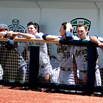 Akron watches as Kent State players receive their Champtionship T-shirts and hats. KRISTIN BAUER   CHRONICLE