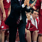 Wisconsin head coach Bo Ryan coaches against Ohio State during the second half of an NCAA college basketball game Tuesday, Jan. 29, 2013, in Columbus, Ohio. Ohio State defeated Wisconsin 58- …
