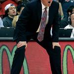 Ohio State head coach Thad Matta coaches against Wisconsin during the second half of an NCAA college basketball game Tuesday, Jan. 29, 2013, in Columbus, Ohio. Ohio State defeated Wisconsin  …