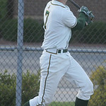 Amherst's #7 Amherst Griffin Weir hit a 3-RBI double.  photo by Chuck Humel