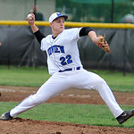 Midview's Dylan Brister pitches against Amherst. KRISTIN BAUER | CHRONICLE