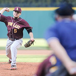 Avon Lake's Logan Montague pitches against St. Ignatius in the top of the second inning. JUDD SMERGLIA/CHRONICLE