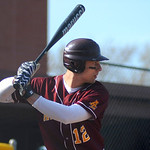 Avon Lake High School's Brad Hamilton (12) at bat against Westlake High School on Tuesday afternoon, April 8 at Avon Lake High School.
