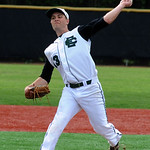 Joey Begany pitches against Independence. STEVE MANHEIM/CHRONICLE