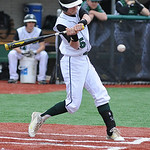 Elyria Catholic's Lukas Redmond bats against Wellington. KRISTIN BAUER/CHRONICLE