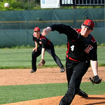 Elyria's Brodie Stewart pitches. STEVE MANHEIM/CHRONICLE