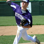 Keystone's Tyler Gullett pitches. STEVE MANHEIM/CHRONICLE