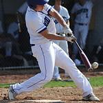 Midview's Dylan Steindl bats against North Ridgeville on Tuesday. KRISTIN BAUER | CHRONICLE
