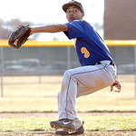 Clearview pitcher #3 Antonio Bennett.