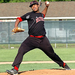 Elyria's pitcher #7 KJ Allgood.