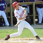 Firelands Dylann Schramm hits an RBI double in first inning May 2.  Steve Manheim