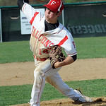 Firelands Joe San Felippo pitches May 2.  Steve Manheim