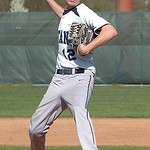 Lorain's pitcher, #12 Kyle Stumphauzer.