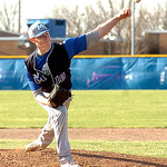 Midview's starting pitcher #10 Eric Lauer.