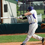 Vermilion Vinny Ragnoni hits RBI double in second inn. May 20.  Steve Manheim
