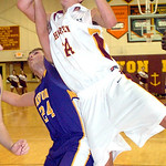 Avon Lake's #24 Mitch Gabanic shoots past Avon's #24 A.J. Kistler.