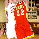 1-24-12 linda murphy</p> <p>AL&#039;s #23 Jimmy Hessell grabs the rebound from Brecksville&#039;s #22 Mike Tyler
