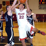 1-11-14 linda murphy</p> <p>brookside&#039;s #32 Kelvin Jones works to shoot past open door&#039;s #24 Andrew Patterson.