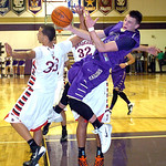 Vermilion's Kyle Nader tries to squeeze past Brookside's Mitto Agosto. LINDA MURPHY/CHRONICLE