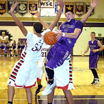 Vermilion's Kyle Nader takes a shot over Brookside's Mitto Agosto. LINDA MURPHY/CHRONICLE
