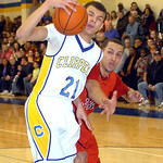 Clearview's Daimon Knowles and Brookside's Mitto Agosto battle for the ball. LINDA MURPHY/CHRONICLE
