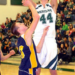 Westlake's Gavin Skelly takes a shot. LINDA MURPHY/CHRONICLE