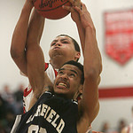 Garfield Hts at Elyria High School.  photo by Chuck Humel