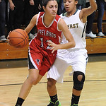 Firelands Alyssa Melendez moves past Amherst Sher Champe Nov. 25.  Steve Manheim