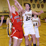 Firelands' Haleigh Bari shoots past North Ridgeville's Isabella Pecchia. LINDA MUPRHY/CHRONICLE