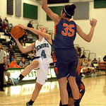 Westlake's Taylor Hood tries to shoot past Berea-Midpark's Stasha Carey. LINDA MURPHY/CHRONICLE